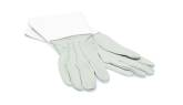 Doon - Marching Gauntlets, White Leather - Large