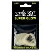 Ernie Ball - Super Glow Picks Medium - Bag of 12