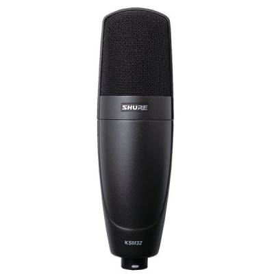 KSM32 Embossed Single-Diaphragm Microphone - Charcoal Gray