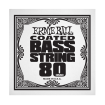 Ernie Ball - .080 Coated Nickel Wound Electric Bass String Single