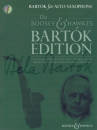 Boosey & Hawkes - Bartok For Alto Saxophone: Stylish Arrangements for Alto Saxophone and Piano - Bartok/Davies - Book/CD