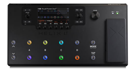 Helix LT Amp & FX Pedal Board