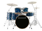 Ludwig Drums - Evolution Maple 6-Piece Shell Pack - Transparent Blue
