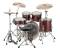 Evolution 5-Piece Drum Outfit w/Hardware & Cymbals - Red Sparkle