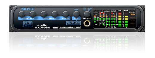 Audio Express Multi-Channel Audio Interface for MAC or PC