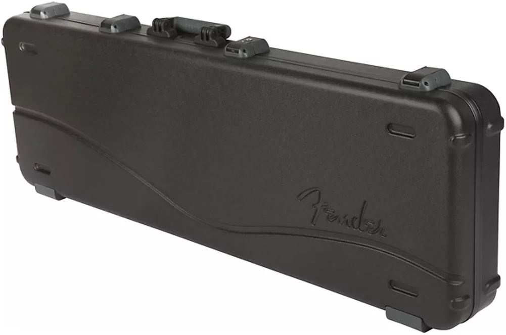 8f1c0a9843b69e Fender Deluxe Molded Bass Case - Black - Long & McQuade Musical Instruments