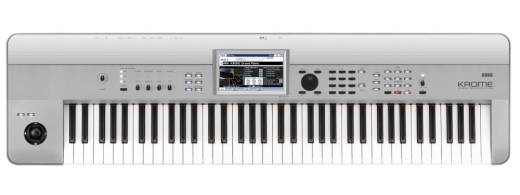 Krome 73-Key Music Workstation (Limited Edition Platinum)