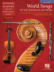 Hal Leonard - World Songs for Solo Instruments and Strings - Slatkin - Percussion - Book