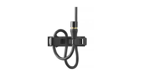 Subminiature Omni Lavalier Microphone (TQG Connection) - Black