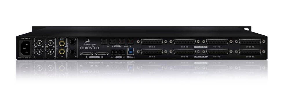 antelope audio orion32 hd 64 channel hdx and usb 3 0 audio interface long mcquade musical. Black Bedroom Furniture Sets. Home Design Ideas