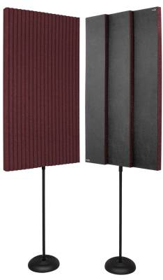 ProMAX V2 Acoustic Panels w/Floor Stands - Burgundy