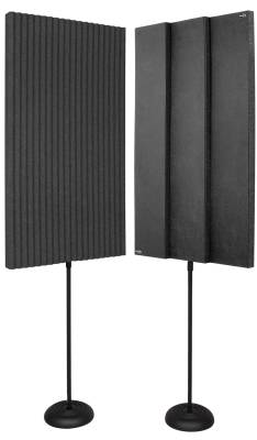 ProMAX V2 Acoustic Panels w/Floor Stands - Charcoal