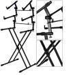 Yorkville Sound - Deluxe Triple X Braced Keyboard Stand