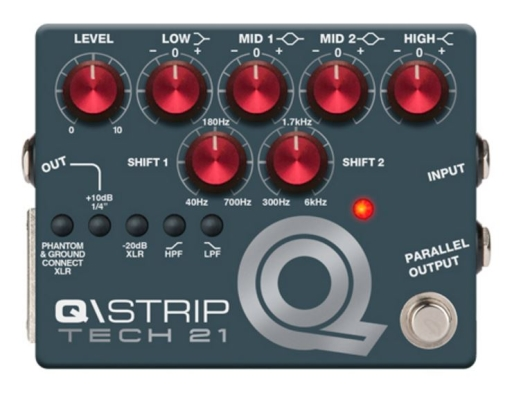 Q/Strip Parametric EQ/ DI