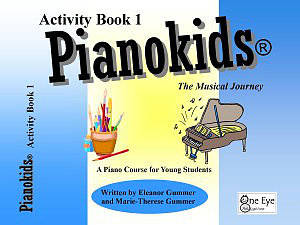 Pianokids Activity Book 1 - Gummer/Gummer - Piano - Book