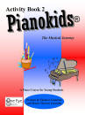 One Eye Publications - Pianokids Activity Book 2, for the Older Beginner - Gummer/Gummer - Piano - Book