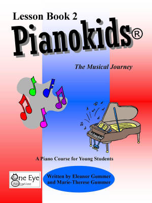 Pianokids Lesson Book 2, for the Older Beginner - Gummer/Gummer - Piano - Book