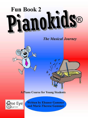 Pianokids Fun Book 2  - Gummer/Gummer - Piano - Book