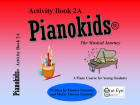 One Eye Publications - Pianokids Activity Book 2A - Gummer/Gummer - Piano - Book