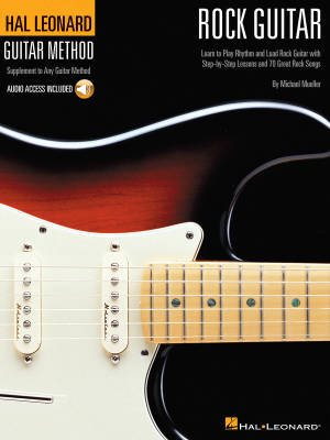The Hal Leonard Rock Guitar Method - Mueller - Book/Audio Online
