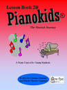 One Eye Publications - Pianokids Lesson Book 2B - Gummer/Gummer - Piano - Book
