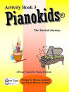 One Eye Publications - Pianokids Activity Book 3 - Gummer/Gummer - Piano - Book