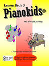 One Eye Publications - Pianokids Lesson Book 3 - Gummer/Gummer - Piano - Book