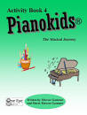 One Eye Publications - Pianokids Activity Book 4 - Gummer/Gummer - Piano - Book