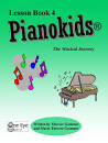 One Eye Publications - Pianokids Lesson Book 4 - Gummer/Gummer - Piano - Book