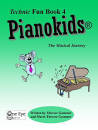 One Eye Publications - Pianokids Technic Fun Book 4 - Gummer/Gummer - Piano - Book
