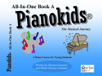 One Eye Publications - Pianokids All-In-One Book 1A - Gummer/Gummer - Piano - Book