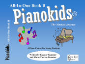 One Eye Publications - Pianokids All-In-One Book 1B - Gummer/Gummer - Piano - Book