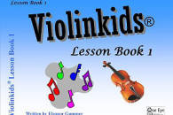 One Eye Publications - Violinkids Lesson Book 1 - Gummer - Violin - Book