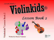One Eye Publications - Violinkids Lesson Book 2 - Gummer - Violin - Book