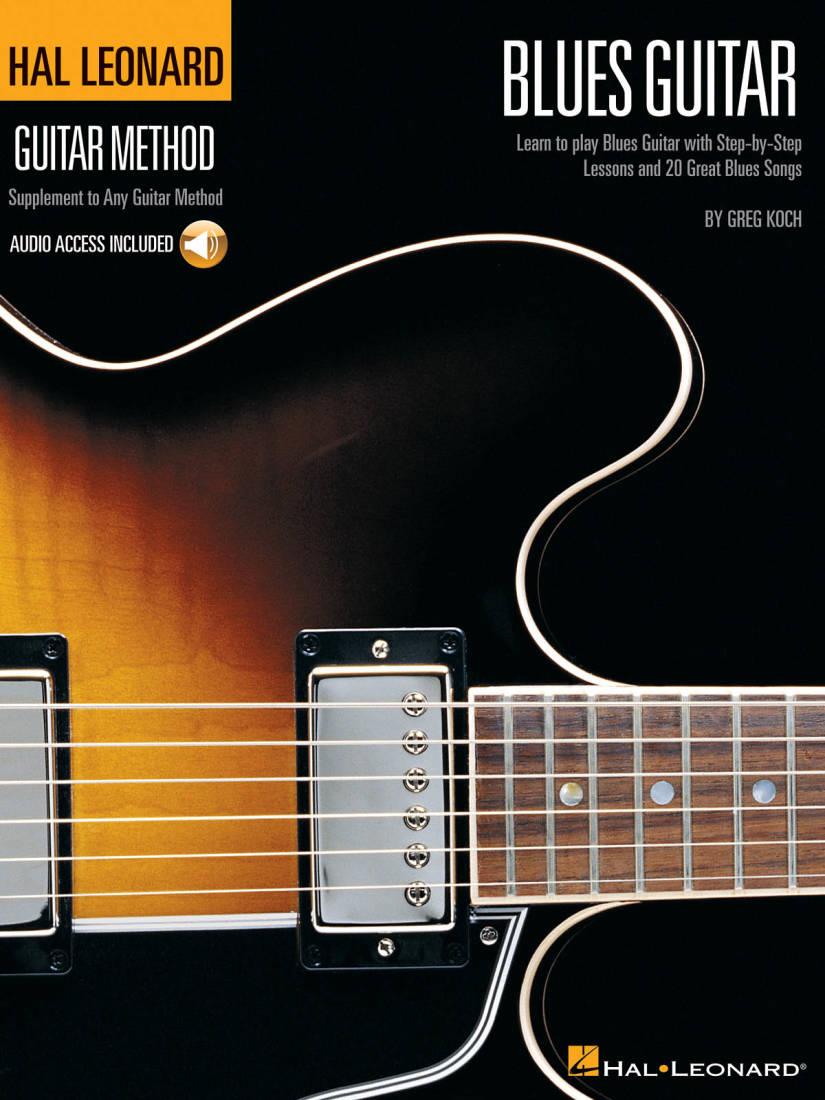 hal leonard the hal leonard blues guitar method koch book audio online long mcquade. Black Bedroom Furniture Sets. Home Design Ideas