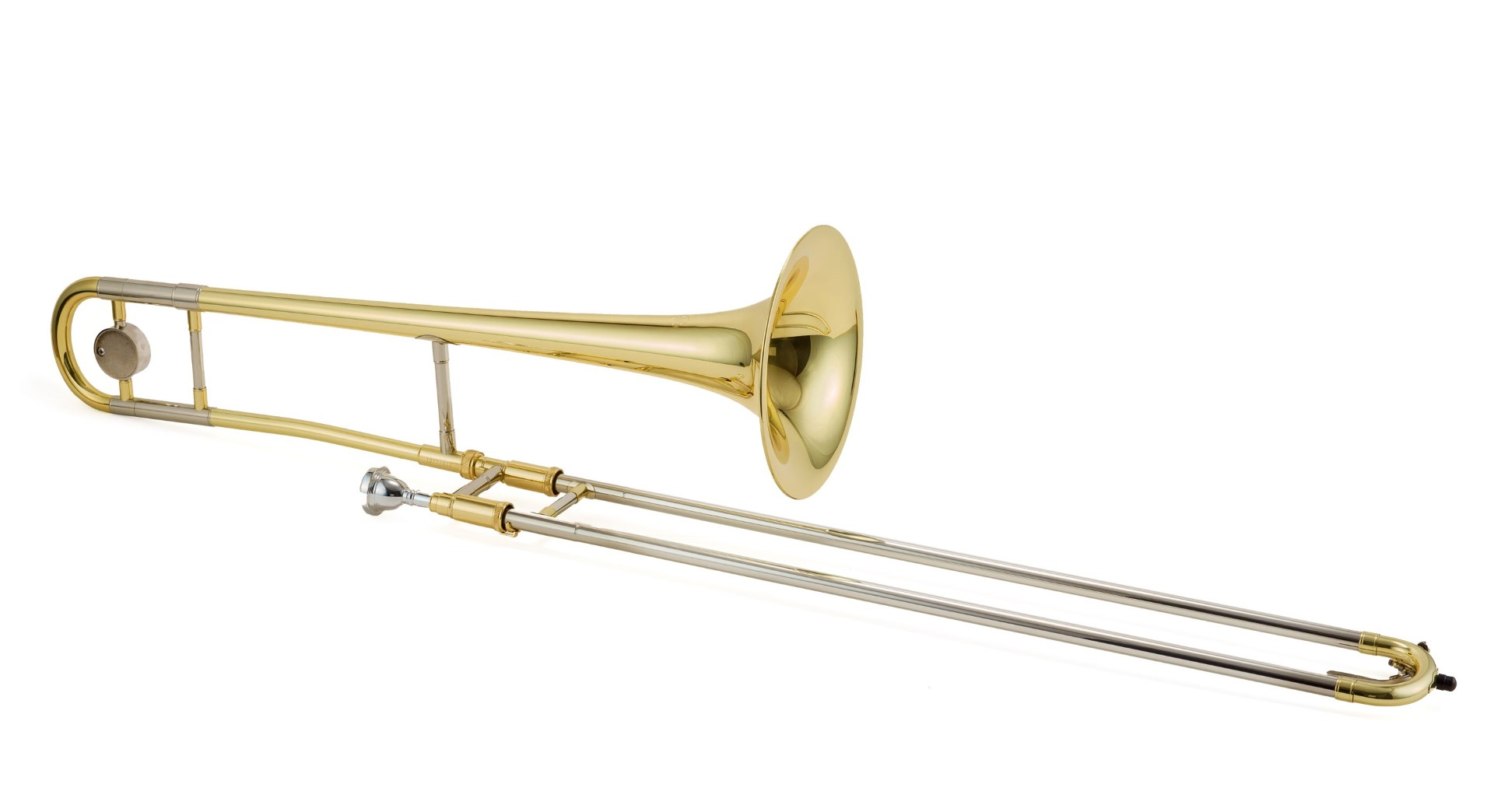 Trombone Outfit, Lacquered w/Case