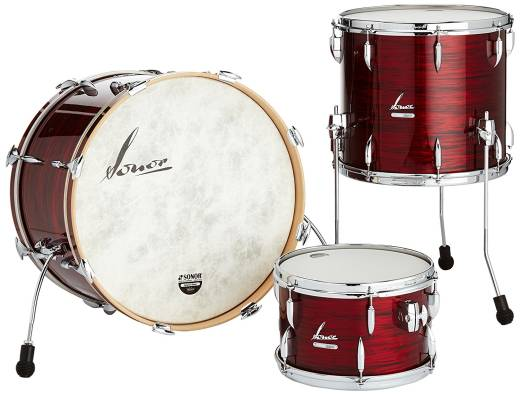 Vintage Series 3-piece Shell Pack 22,13,16 - Vintage Red Oyster