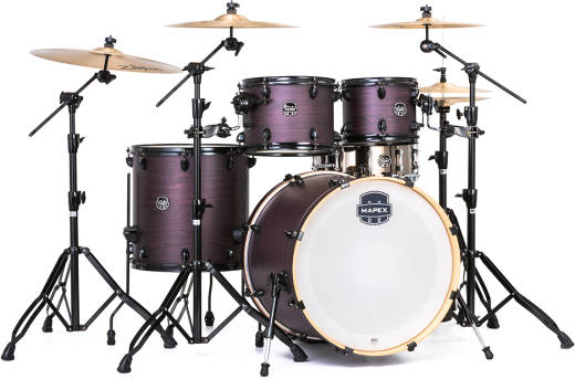 Armory 5-Piece 22,10,12,16,14-Inch Shell Pack - Purple Haze
