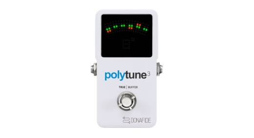 Polytune 3 Ultra-Compact Polyphonic Tuner w/Built-In Buffer