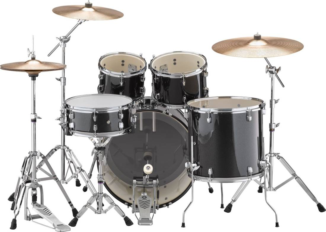 Yamaha Rydeen 5-Pc Drum Kit (20,10,12,14,Snare) W/Hardware ...