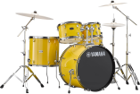 Yamaha - Rydeen 5-Pc Drum Set (20,10,12,14,Snare) w/Hardware - Mellow Yellow