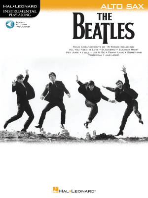 The Beatles: Instrumental Play-Along - Alto Sax - Book/Audio Online