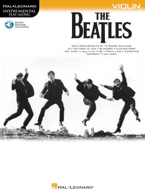 The Beatles: Instrumental Play-Along - Violin - Book/Audio Online