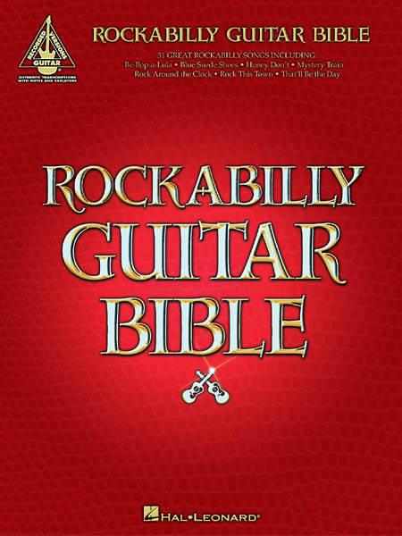 Hal Leonard Rockabilly Guitar Play-Along Series Volume 20 Book with CD Hal Leon