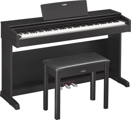 Arius Digital Piano w/Bench - Black