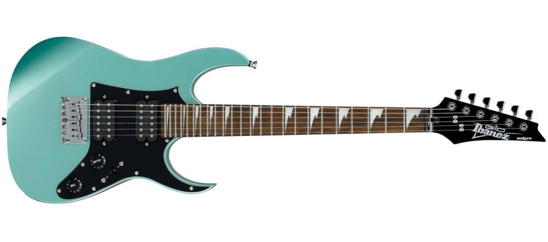 ibanez grg mikro electric guitar metallic light green w gig bag long mcquade musical. Black Bedroom Furniture Sets. Home Design Ideas