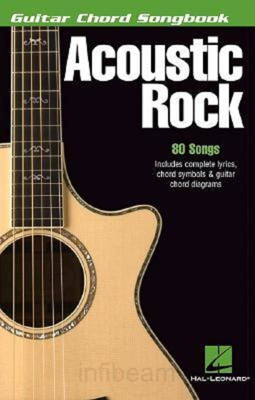 Hal Leonard Guitar Chord Songbook - Acoustic Rock - Long & McQuade ...