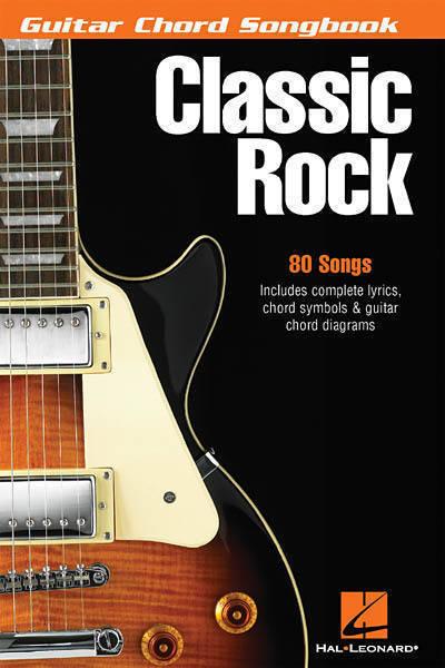 hal leonard guitar chord songbook classic rock long mcquade musical instruments. Black Bedroom Furniture Sets. Home Design Ideas