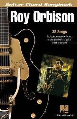 hal leonard guitar chord songbook roy orbison long mcquade musical instruments. Black Bedroom Furniture Sets. Home Design Ideas