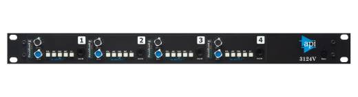 Discrete 4-Channel Mic/Line Preamp w/Variable Output Level Control